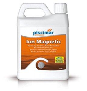 PM-615 Ión Magnetic – ION magnétique: élimination et prévention des Taches de métal dans la Piscine. Bouteille 1,2 kg.