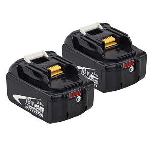 Powayup 18V 5.0Ah Batterie Remplacement pour 18V BL1850 BL1850B BL1840 BL1840B BL1830B BL1815 BL1820 BL1830 BL1835 BL1835B 194205-3 194309-1 LXT-400 Outils électriques sans Fil