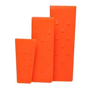 Poweka Lot de 3 cales d'abattage en plastique ABS pour tronçonneuse Sti-HL 5,5″ et 8″ et 10″