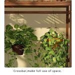 QWER Supports de Pots de Fleurs Étagère De Fleur Support de Stockage de Plantes en Bois Massif Multi-Level Living Room Decoration Fleur Racks