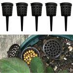 Raybre Art® 100 pièces bonsaï boîte d'engrais Portable réutilisable Engrais Couvercle boîte Panier pour pour bonsaï Plante Fleur