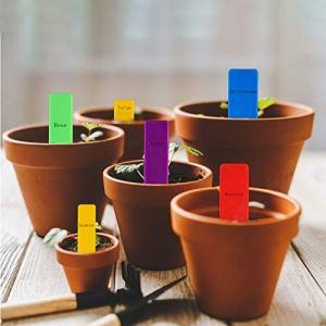 RUIYELE Lot de 250 étiquettes en plastique de 10,2 cm pour plantes pépinières, jardins, légumes, pots, pots de fleurs, étiquettes étanches pour semis