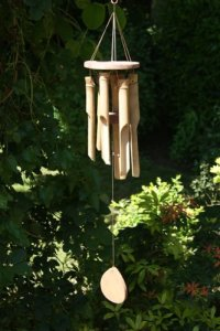 Siesta Bali Carillon à vent en bambou Petit format