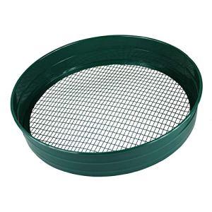 Simpaoutdoor Tamis de jardin en acier – 6 mm, 7 mm et 12 mm. Mailles de 7 mm.
