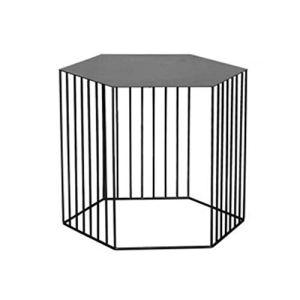 Table Basse Table de Salon Table D'appoint Fer forgé linelace polygone Petit canapé Table Table d'appoint, Loisirs Simple Salon Chambre Balcon étagère de Plantes en Pot Table de Salon Table D'appoint