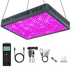 V99GROW Lampe de croissance LED avec télécommande (3000 W)