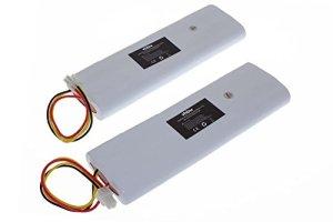 vhbw 2X NiMH Batterie 4500mAh (18V) pour Tondeuse à Gazon Robot Tondeuse Husqvarna Automower 210C, 220AC, 230ACX, 260ACX, G2 2004-2006, SH