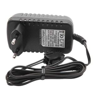 vhbw Chargeur compatible avec Husqvarna Automower 320, 330X, 420, 430, 430X, 440, 450X, 520 Robot Tondeuse – Batteries de (18V) Li-Ion