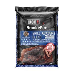 Weber Granulés de Bois SmokeFire 100% naturels pour Barbecue Academy Blend, 0
