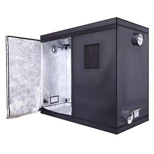 Alightup Chambre de Culture 240 x 120 x 200 Tente de Culture Indoor Kit Complet Box Culture Grow Box Mini Serre pour Semis pour Plantes Interieur