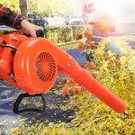 Alvinlite Souffleur de Feuilles Portable Serre de Jardinage à Deux Temps pour Le soufflage des Feuilles déneigement soufflage des Feuilles Neige débris poussière Ordinateur