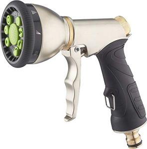 AROZ Pistolet d'arrosage pomme multijet automatique metal