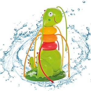 Arroseur à eau pour enfants – Jouet d'arrosage avec 6 tuyaux – Jouet d'eau pour enfants – Arroseur de jardin pour l'été, jardin, pelouse, jeu en plein air