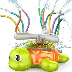 Arroseur de jardin pour enfants, arroseur d'eau réglable pour enfants, jouet d'extérieur pour tortues avec tuyau pivotant