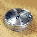 BAWAQAF Baromètre, baromètre, moniteur d'humidité, station météo multifonction, baromètre, thermomètre extérieur portable