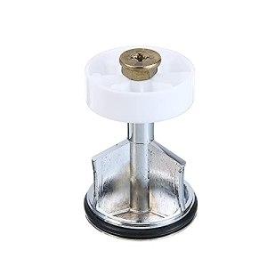 Bouchon de vidange de salle de bain avec filtre de bonde et bouton poussoir clic-clac chromé pour la maison