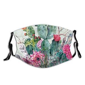 Bouquet de plantes épineuses confortables et coupe-vent, avec plumes de style bohème, imprimé pour adultes