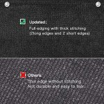 Brise vue Balcon,90x 500 cm Brise Vue Occultant,HDPE (220g / m²) Paravent de Balcon,Coupe-Vent,Anti-UV,Résistant Aux Intempéries,Avec œillet,Serre-Câbles en Nylon et Cordon,Jardin Exterieur(Noir)