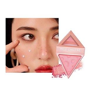 Cirdora Maquillage Blush Cheek Éclaircissant Naturel Rose Nude Haute Définition Blush Naturel Maquillage pour Tous Les Types De Peau