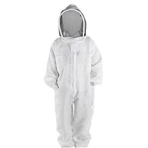 Costume Apiculture Très Épais Bee-proof Vêtements Costume Espace Naturel À Voile Ronde Pour Bee Farm (xl), Apiculture Soins Élevage