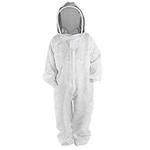 Costume Apiculture Très Épais Bee-proof Vêtements Costume Espace Naturel Avec Round Veil Bee Farm (l), Apiculture Soins Élevage