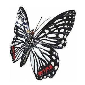 DIANZI Clôture Papillon Garde-corps Décoration Jardin Fer Parc Fleurs et Herbe Réalistes Ornements Intérieur et Extérieur