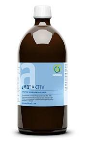 eMC emB Active 1 litre – micro-organismes efficaces pour la décomposition des substances difficilement biodégradables à composter.