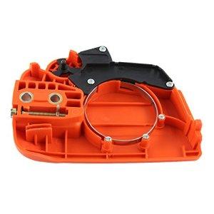 Ensemble de frein de chaîne, Ensemble de frein de chaîne pour tronçonneuse, Fabricant d'équipement d'origine Convient pour 350 235 235E 236 240 Husqvarna Orange