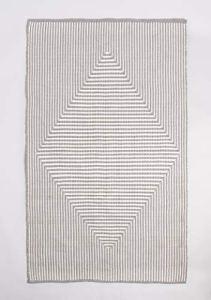 FAB HAB – Tapis en Polyéthylène recyclé (Fibres Polyester) pour intérieur/extérieur – Denver – Gray (240 cm x 300 cm)