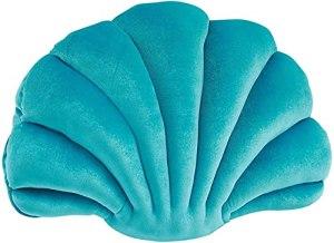 Fay Bless Coquillage Coussins pour Canapé, en Plein air Coussins pour Lit Oreillers de Jet Décoratif Oreillers pour Patio Meubles Sea Princess (Green,M)