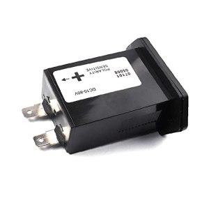 Gem réfractomètre Compteur horaire SYS-1 DC10-80V numérique Compteur horaire moteur hors-bord rectangulaire Compteur horaire Noir