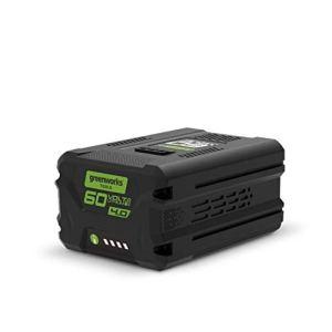 Greenworks Tools Batterie 60V G60B4 (batterie puissante rechargeable Li-Ion 60V 4Ah GEN 2 adaptée à tous les outils de la série Greenworks 60V) Vert 01-000002918407