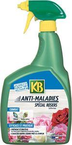 KB Anti Maladies Rosiers Sulfur prêt à l'emploi 800 ML KSUROS800 Neutre