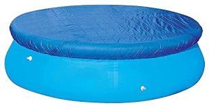 Le couvercle de la piscine convient au diamètre de 183 / 244/305 / 366 cm Réglage simple et piscine piscine ronde piscine gonflable, couverture de piscine souterraine, couverture de couverture de pisc
