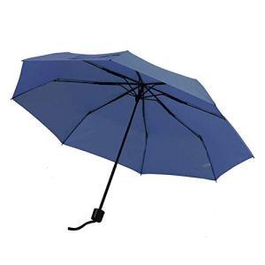 LITINGT Mini Parapluie avec étui Design Compact léger, Parfait pour Les Voyages Parasol Portable léger et parapluies d'extérieur, Orange