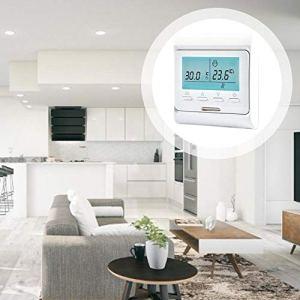 Molare Contrôleur électrique programmable de température de Chauffage au Sol numérique programmable de Thermostat Intelligent de 220V pour Le contrôle de la température de l'équipement de Chauffage.
