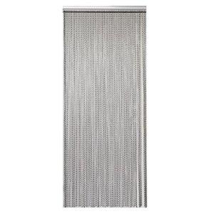 MultiWare Moustiquaire en métal pour chaîne Curtian Alumnium Gris