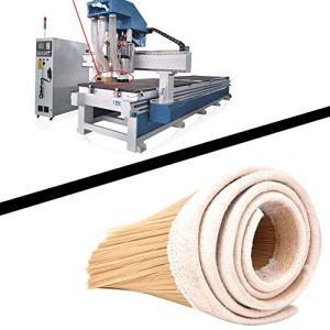 Nettoyeur de brosse haute stabilité pour machine à graver