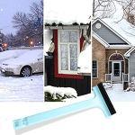 Remover Neige Grattoir Voitures Gel Outils De Suppression D'essuie-glace Pour Pare-brise Pare-brise En Verre Fenêtre Bleu Clair
