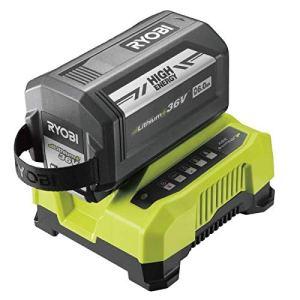 Ryobi Batterie 36V LithiumPlus 6.0 Ah – 1 Chargeur Rapide RY36BC60A-160