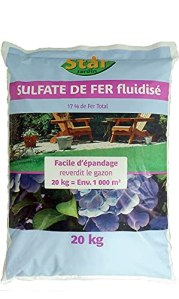 Start Sulfate de fer fluidisé 20kg 20kg SFF20