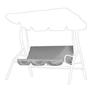 Taidda de Fin d'année Housse de Swing, Housse de Protection de Swing 59.1×59.1×3.9in Housse de siège Suspendu pour hamac extérieur étanche pour Housses de siège pivotant à 3 Pl