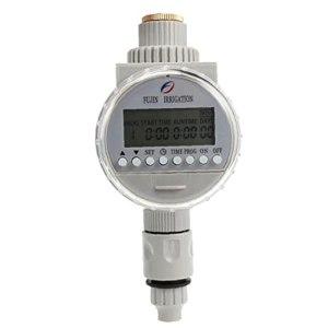 TOSSPER 1pc Jardin Arrosage Automatique Solaire Programmateur Contrôleurs D'irrigation Système D'irrigation LCD Numérique Minuteur