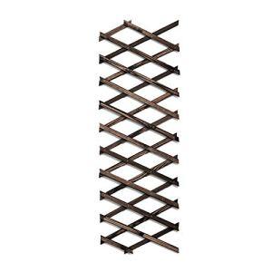 Treillis extensible en bois pour plantes – Clôture treillis rétractable – Pour extérieur – À suspendre – Pour plantes grimpantes – Pour chien, animal domestique