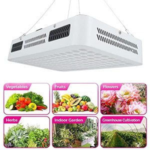 Uxsiya Lampe de Croissance des Plantes LED Plant Light 1000W Facile à Installer pour Les serres pour Plantes d'intérieur(Transl)