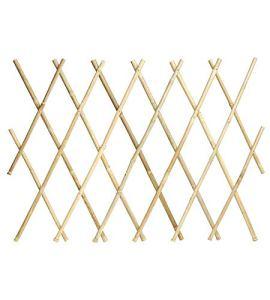 Verdemax 5270X 1,8x 0,6m Treillis Extensible en Bambou–Naturel