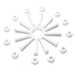 Ysislybin Lot de 12 goupilles de joint pour piscine – 6 cm – Avec capuchon – Accessoires de piscine