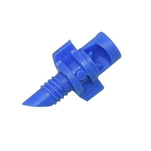 YUTRD ZCJUX 90/180/360 degrés Garden Irrigation Simple Réfraction Buse de réfraction Arrosage Buse de Fleurs Buse de Brouillard Filetée Connexion filetée 50 PCS (Color : Blue)