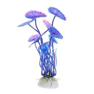 ZZALLL Plantes Aquatiques décoration de réservoir de Poissons Ornements artificiels pour la Maison Paysage d'aquarium