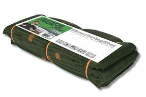 1 grille de protection pour silo – 10 x 12 m – Vert – Filet de protection pour silo – Super stable